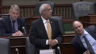 Fedeli Calls on the Government to Act on Municipal Concerns