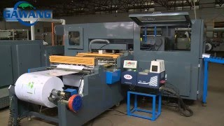 1 Roll A4 Paper Cutting And Packing Machine Line