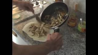 Marinated Chicken Fajitas