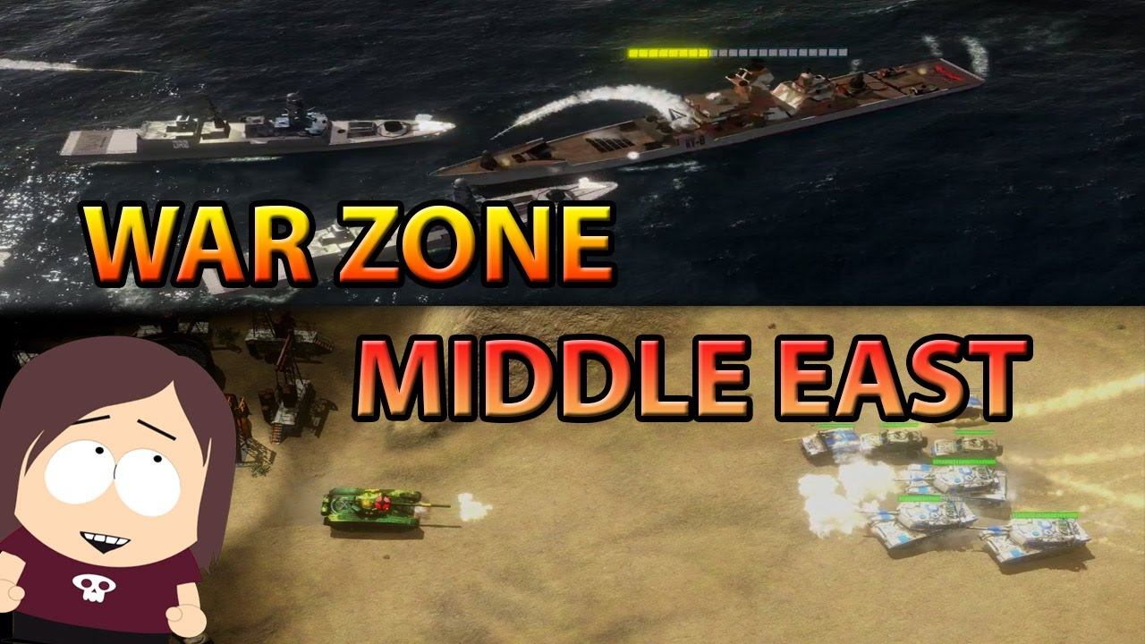 Pre Alpha Demo War Zone Middle East
