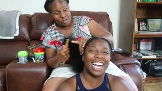 I Let my Mom Braid My Hair