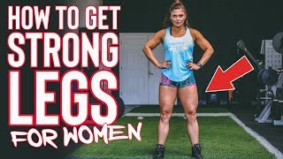 STRONG LEGS For Women Made Easy - Just Follow This Training Advice