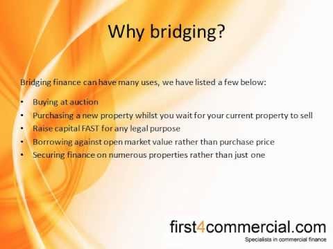 An introduction to: Bridging Finance
