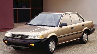 Asosiy ta'mirlash 1991 Toyota Corolla E90. Part 2