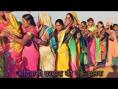 आदिवासी परम्परा  कि झलक  // Adivasi songs // Adivasi Dance Video // Arjun R meda // New Timli 2018