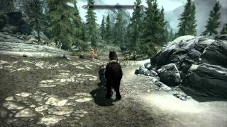 Skyrim fraps quality test 1080P full hd gameplay max graphics asus g73jw