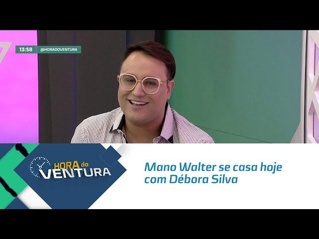 Mano Walter se casa hoje com Débora Silva em Marechal - Bloco 01