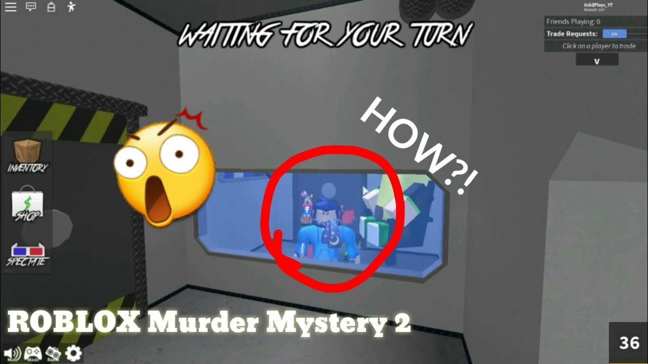 How To Glitch In The Secret Room Roblox Murder Mystery 2