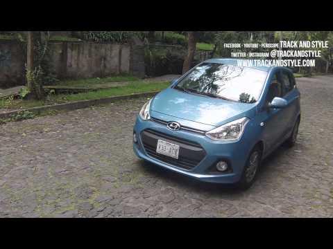 Hyundai Grand i10 Prueba de manejo Track and Style