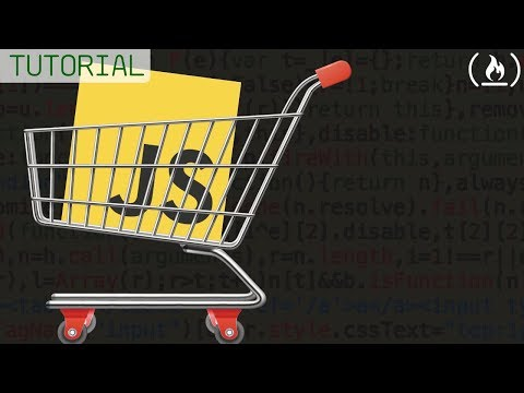 JavaScript Project Tutorial: Shopping Cart