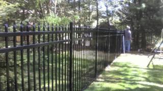 Elite Aluminum Fence Style Efs-10 Commercial