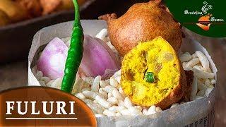 Fuluri Recipe | ফুলুরি রেসিপি | Besan Fuluri Chop Telebhaja | মুচমুচে চপ তেলেভাজা | Bengali Phuluri
