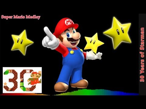 Super Mario Remix  30 Years of Starman Super Mario Medley