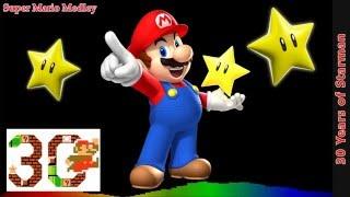 Super Mario Remix - 30 Years of Starman [Super Mario Medley]