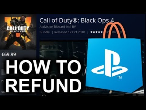 Explaining How To Get Your Refund From Digital Orders On PlayStation Store!