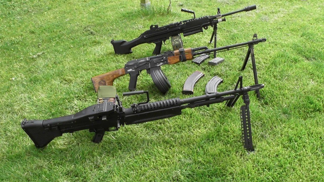 Vs Vs M60 Rpk Airsoft M249 Comparative Spanish North