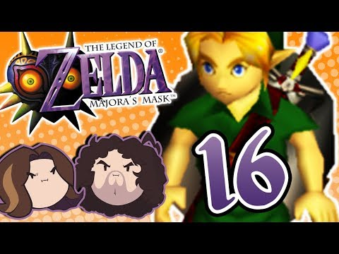 Zelda Majora's Mask: British Reality TV - PART 16 - Game Grumps