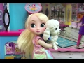 Pet Shop! Elsa & Anna buy a Puppy at Barbie's Pet Shop! Doggy Bubble Bath +Cute Kittens! Dolls movie