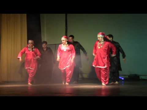 Kashmiri Dance @ NADT by IRS officers on Republic Day