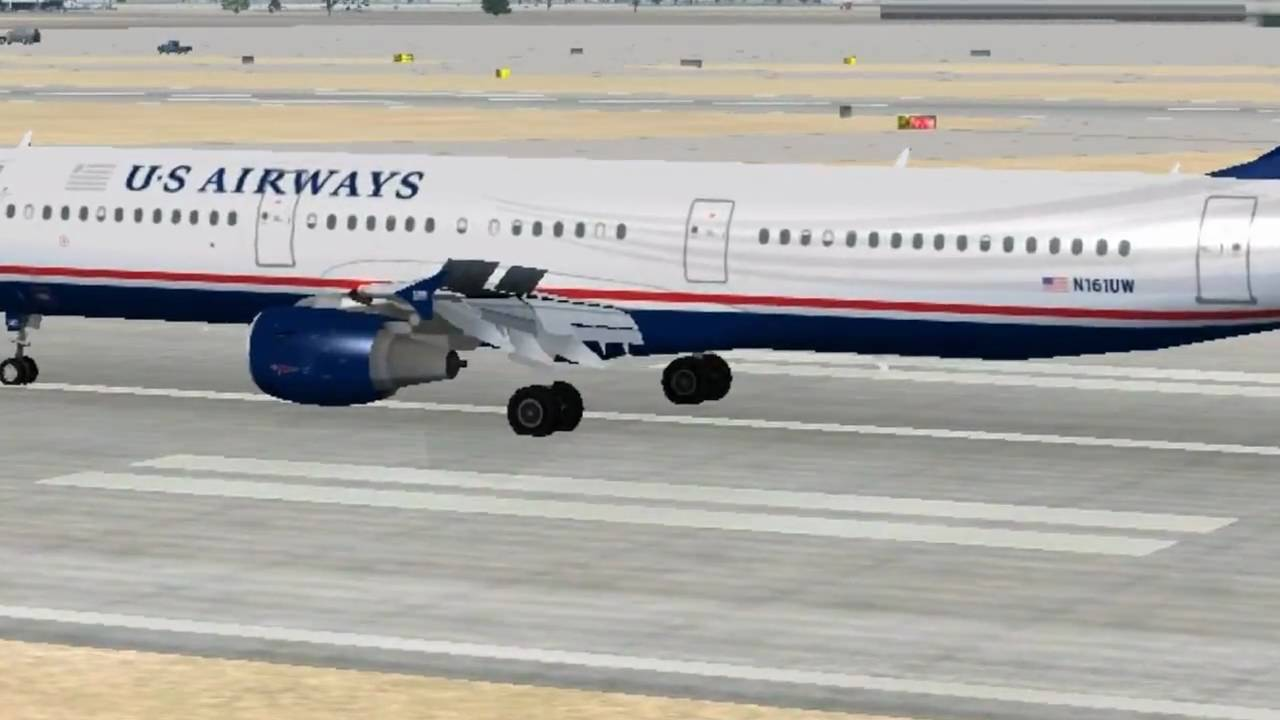 FSX AI ULTIMATE TRAFFIC II landing LA