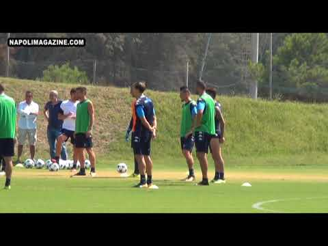 VIDEO NM - Napoli, allenamento pre Nizza