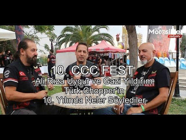 TCMK 10.  CCCFest Röportajı