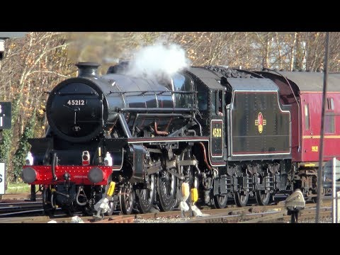 45212 On The Bath Christmas Market at Bristol Temple Meads - 30/11/17
