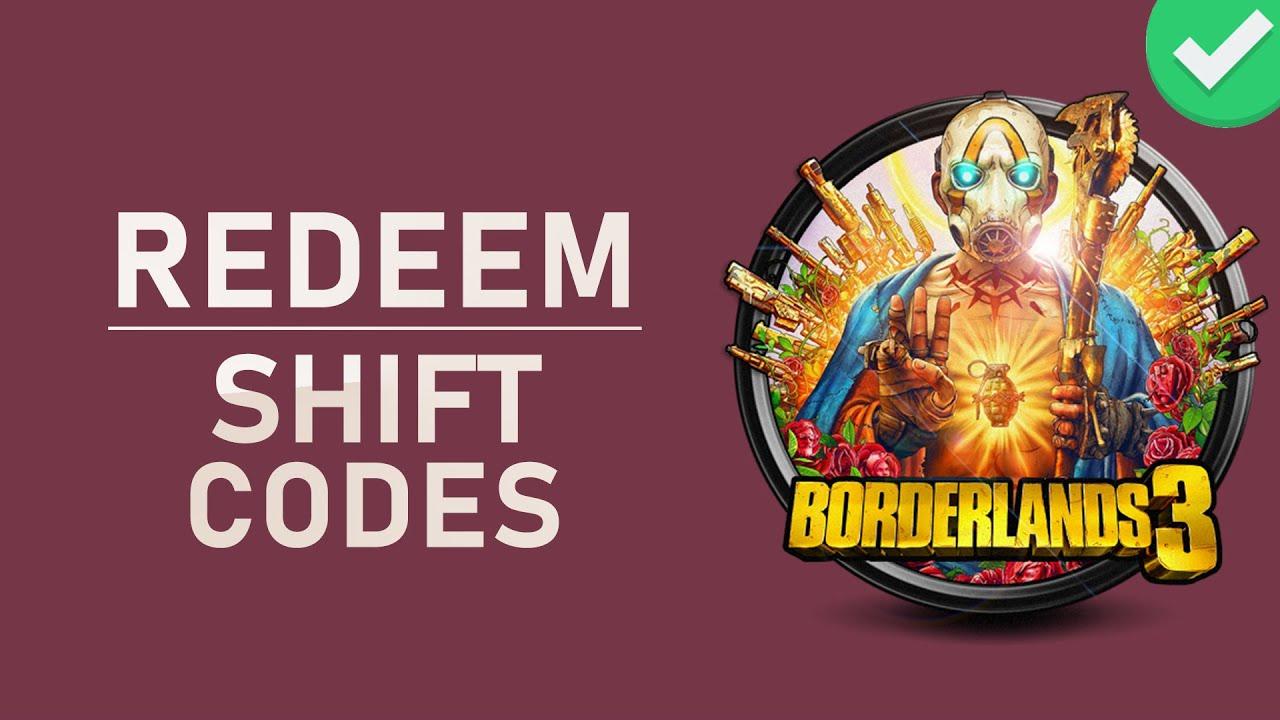 redeem shift codes borderlands 3