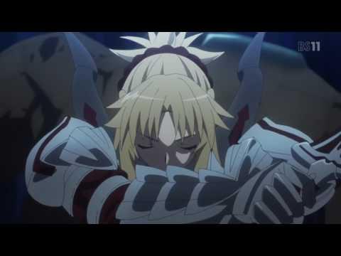 Fate/Apocrypha - Mordred vs. Golems