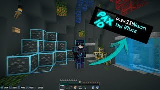 Pax10 Neon Texture Pack 1.7-1.8 NO LAG