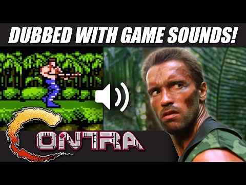 'Predator' With CONTRA Nintendo (NES) Sounds! | RetroSFX