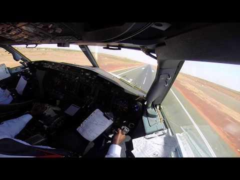 737 Landing Bamako