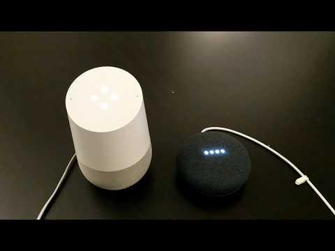Google Home vs Home Mini comparison