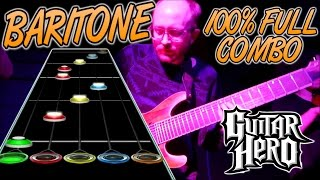 Baritone 100% FC (Guitar Hero Custom Song)