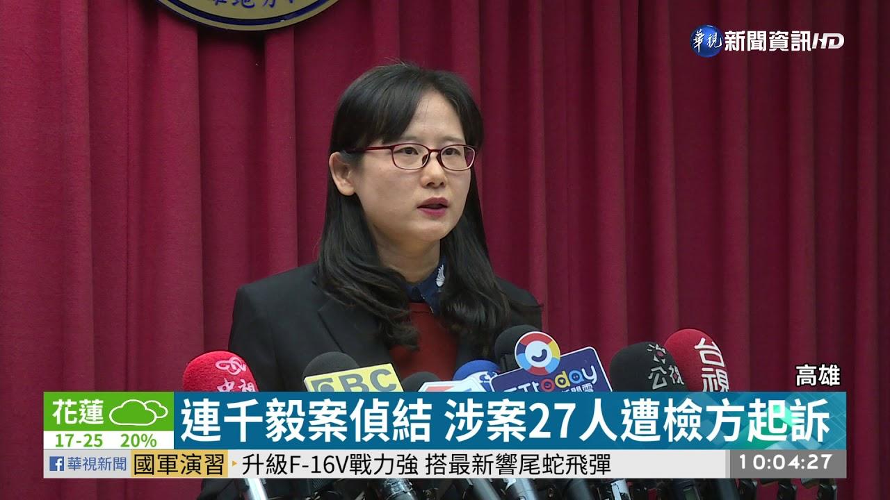 連千毅案偵結 檢建請刑前強制工作3年   華視新聞 20200116 - YouTube