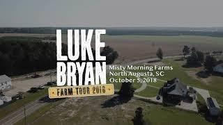 Luke Bryan North Augusta Concert Set Up