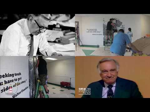 SSN:  Walter Cronkite Mural at South Seminole Academy
