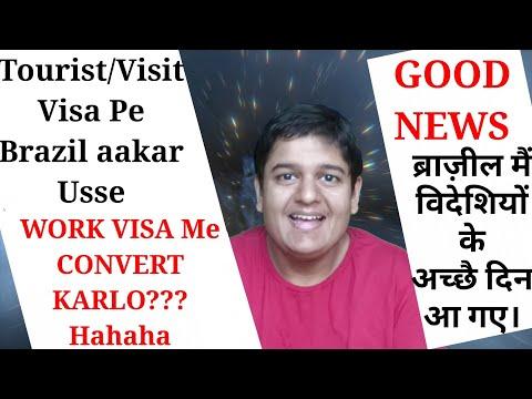 Tourist Visa Ko Work Visa Me CONVERT Karlo??? Hahaha | Good News | New Law Of Migration