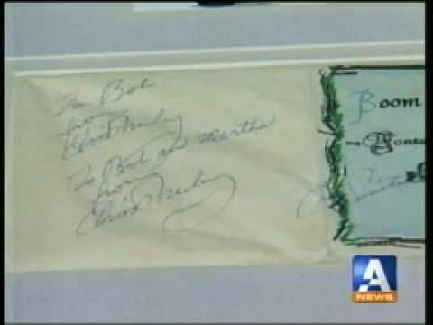 New...Interview showing Elvis and Frank Sinatra autograph