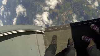 chris and cressida freefly at cpi ellington ct go pro 3 black skydive