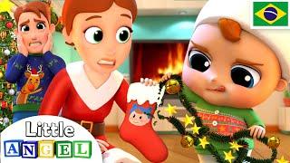 Download A Primeira Árvore de Natal do Joãozinho! 🎄 | Canal do Joãozinho - Little Angel Português Mp3 and Videos