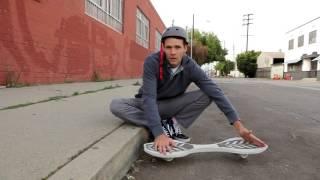 Как научиться прыгать на двухколёсном скейте Razor RipStik. Обучение трюкам на роллерсерфе.