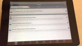 Tapatalk Forum App Video İnceleme