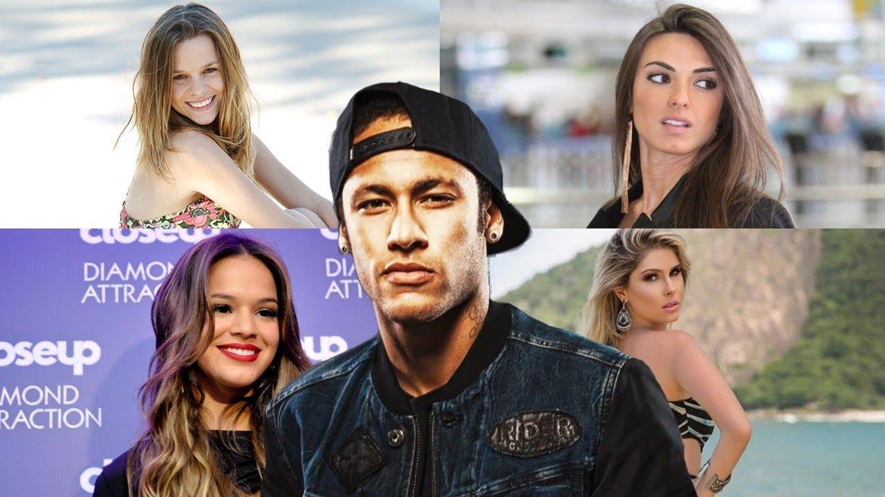 Neymar and girlfriend