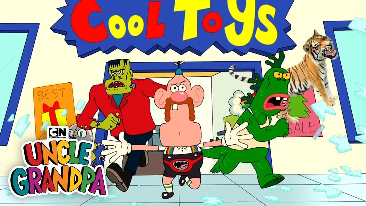 Toy Rush I Uncle Grandpa I Cartoon Network Youtube