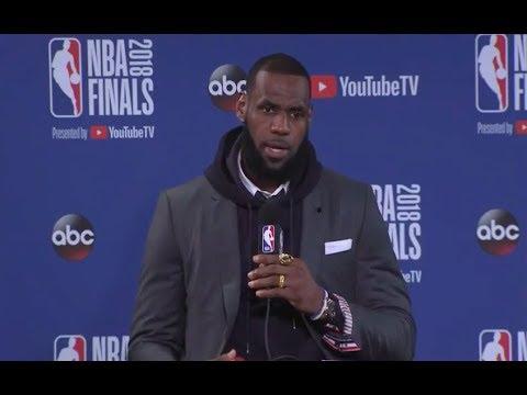 LeBron James   Game 2 Finals Press Conference
