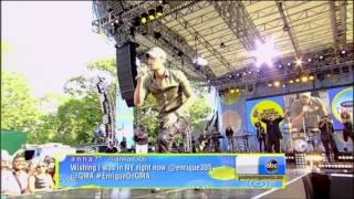 Repeat youtube video Enrique Iglesias , Sean Paul , Gente De Zona - Bailando (Live , Summer Concert Series)