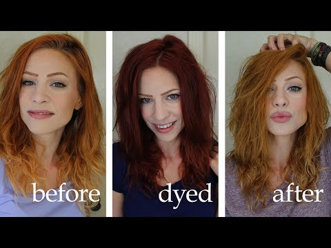 Lightening (or Removing Dye) With Vitamin C And Shampoo