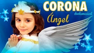 Cómo hacer una corona de ángel How to make a angel crown