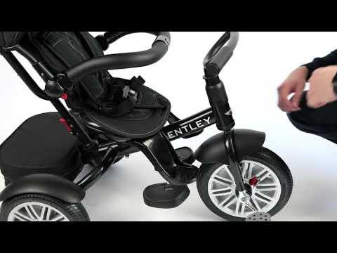 BENTLEY Toddler Tricycle 6 In 1 Air Wheel Children Buggy Pram Trike Bentley Functions How To Use